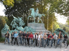 fietstocht groepsfoto