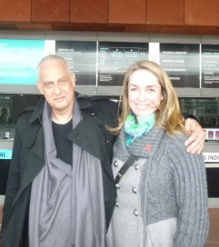 Carolien with Luc Tuymans